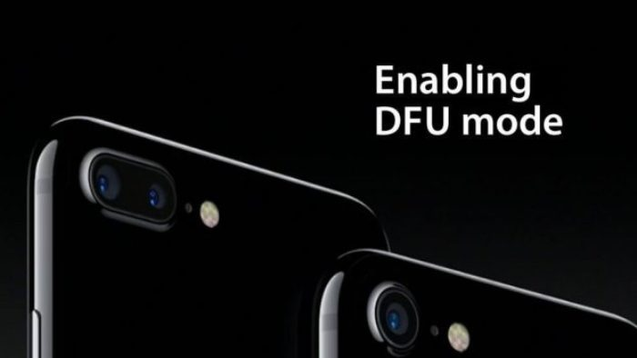 iPhone 7'de DFU Mod Nasıl Açılır?