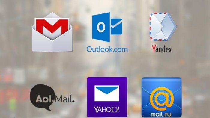 En Popüler E-Posta Servisleri