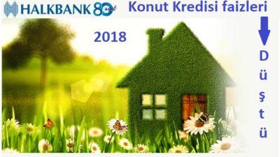 Halkbank Konut Kredisinde Faiz İndirimi 2018