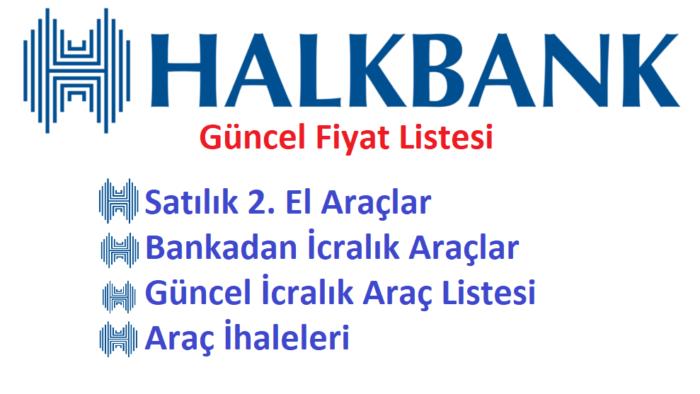 Halkbank' tan Satılık 2. El Araçlar