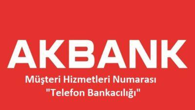 Akbank Telefon Bankacılığı – 444 25 25