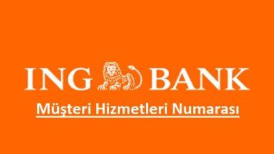 ING Bank Telefon Bankacılığı – 0850 222 0 600