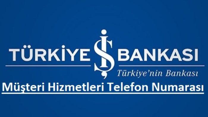 İş Bankası Telefon Şubesi (Bankacılığı) 0850 724 0 724