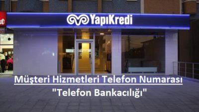 Yapıkredi Müşteri İletişim Merkezi – 0850 222 0444