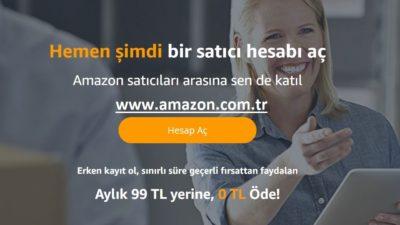 Amazon Türkiye Mağaza Hesabı Nasıl Açılır?