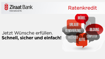 Ziraat Bank Ratenkredit