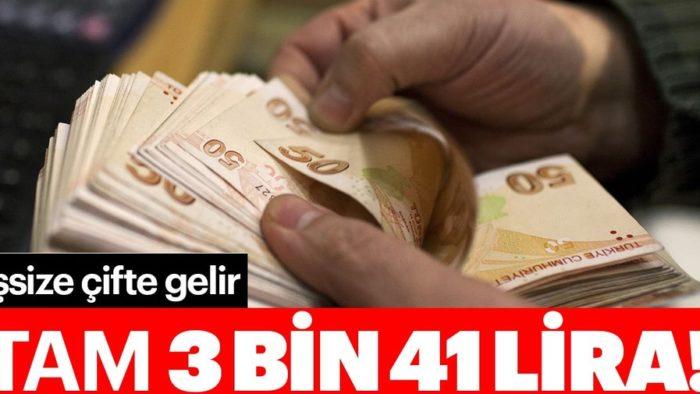 İşsize Tam 3 bin 41 lira Ek Maaş İmkanı