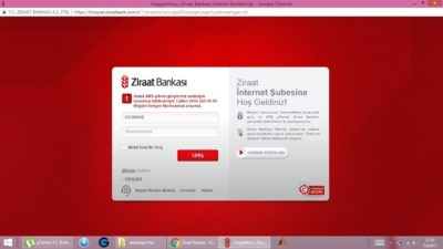 Ziraat Bankası İnternet Şubesi Şifre Alma Nasıl Yapılır?