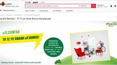 Garanti Bankası Bonus Puan Kullanılan İnternet Siteleri