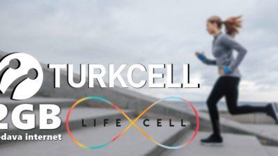 Turkcell Lifecell Aylık 2GB Bedava İnternet Paketi Nasıl Yapılır?