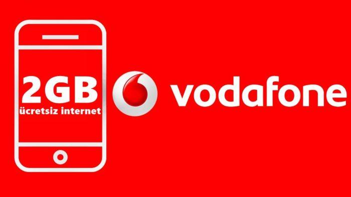 Vodafone Bedava İnternet Paketi Nasıl Yapılır?