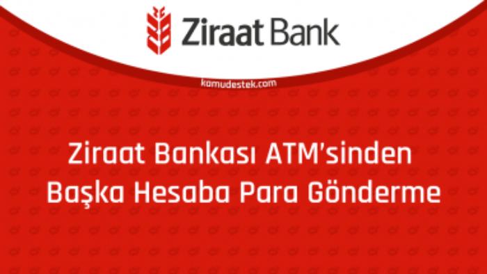 Ziraat Bankası Başkasının Hesabına ATM'den Para Yatırma