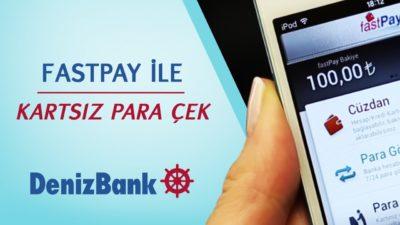Denizbank ATM'den Kartsız Para Çekme / Yatırma