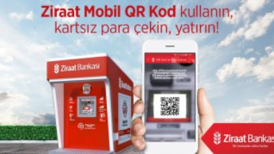 Ziraat Bankası ATM'den Kartsız Para Çekme  / Yatırma