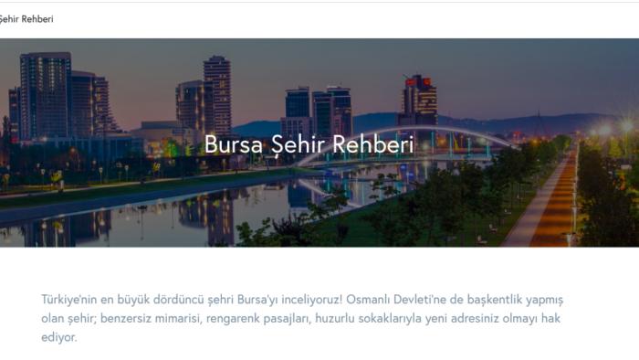 Yatırım Avantajları ile Bursa'yı Tanıyın