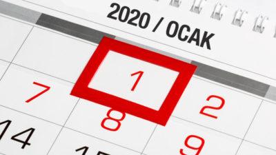 Yılbaşında (1 Ocak) Bankalar ve Resmi Kurumlar Açık mı?