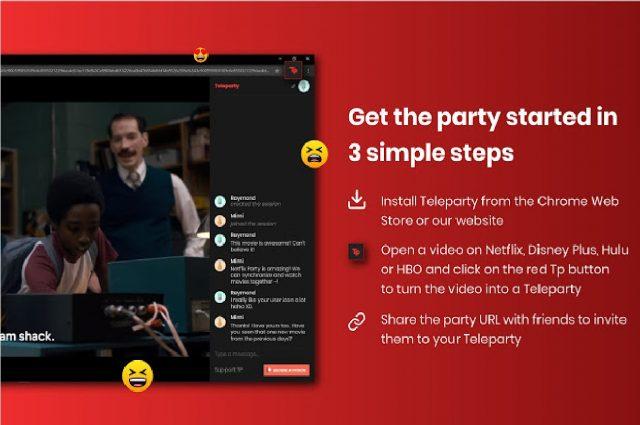 Chrome Netflix Party Eklentisi Nasıl Kullanılır? | bilgibankan.com